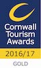 Cornwall Tourism Awards Gold 2016/17